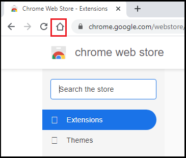 how to set default page in google chrome