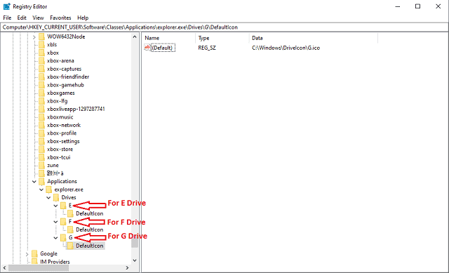 how to change drive icons
