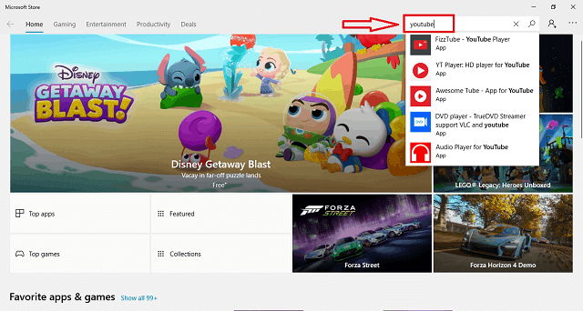 how to install youtube on windows 10
