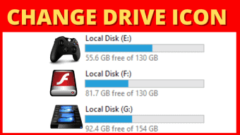 how to change drive icon