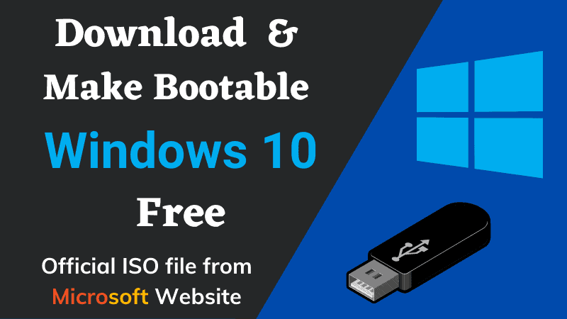 Windows 10 ISO Image Free Download 32-64 Bit From Microsoft Legally