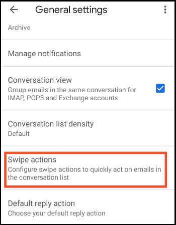 how to delete all emails on android