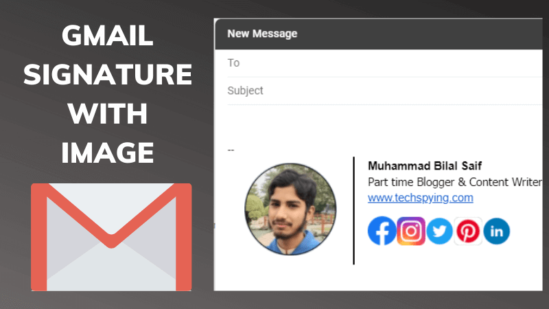 How to Insert Image in Email Signature in Gmail