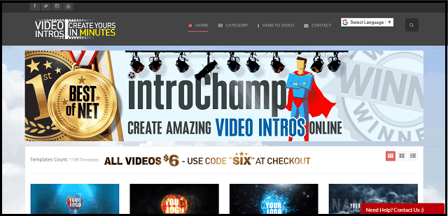 best YouTube intro makers